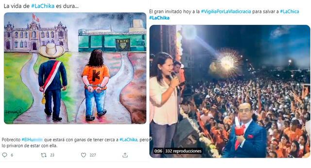 Los usuarios de Twitter hicieron uso de su creatividad e ingenio para convertir en tendencia top1 el hashtag #LaChika.
