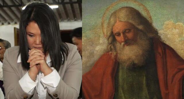Keiko Fujimori fue criticada en las redes sociales por rezar el Padre nuestro en mitin político.