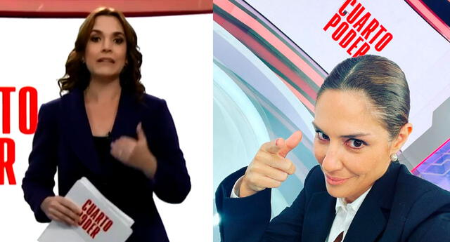 Mávila Huertas no renunció, dijo Melissa Peschiera al aire.