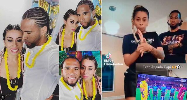 Claudia Díaz y Pedro Gallese, al parecer, no están separados. Al contrario, están más unidos que nunca.