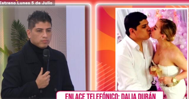 Jhon Kelvin hace 'mea culpa' y pide disculpas a Dalia Durán