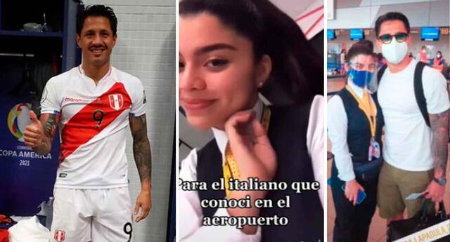 Gianluca Lapadula despierta pasiones también en las hinchas de la selección peruana.