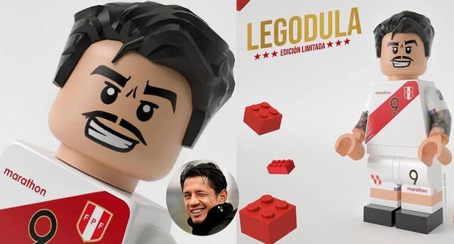 Lego de Gianluca Lapadula es toda una sensación en las redes sociales.