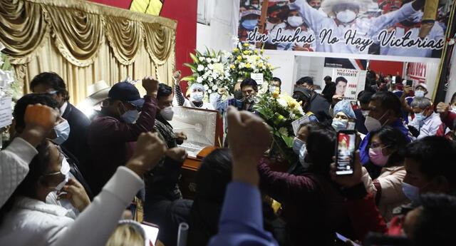 Sacarías Meneses fue velado el último martes. Familia pide celeridad en el caso.