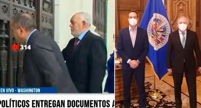 George Forsyth se reunió con el secretario general de la OEA.