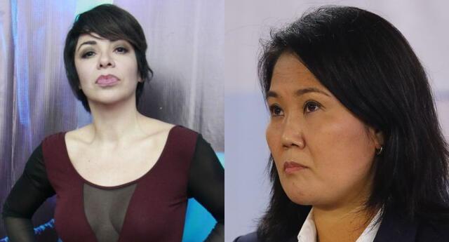 Tatiana Astengo se refirió al favoritismo que habrían tenido algunos medios de comunicación por Keiko Fujimori, y la troleó.