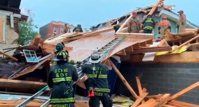 Se reportan varios heridos tras el colapso de un edificio en EE.UU.
