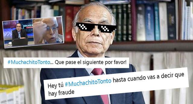 Aníbal Torres de Perú Libre se hizo tendencia en las redes sociales.