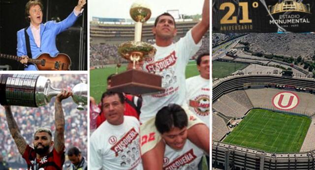 Conoce algunos de los eventos deportivos y conciertos realizados en el Estadio Monumental.