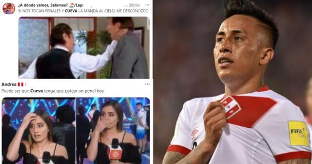 Memes de Christian Cueva por Perú vs Paraguay en la Copa América 2021: stickers, momos, hinchas de la Selección Peruana piden que no le toque patear penales