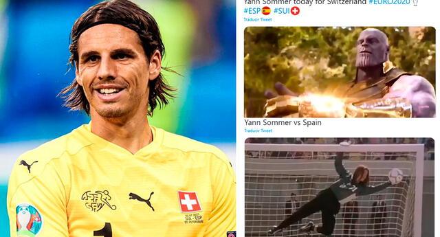 Suiza aguantó 40 minutos con un jugador menos hasta los penales, pero fue en vano ya que España logró imponerse 3-1