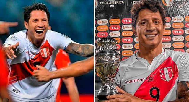 Gianluca Lapadula sufrió accidente en el partido Perú vs Paraguay.