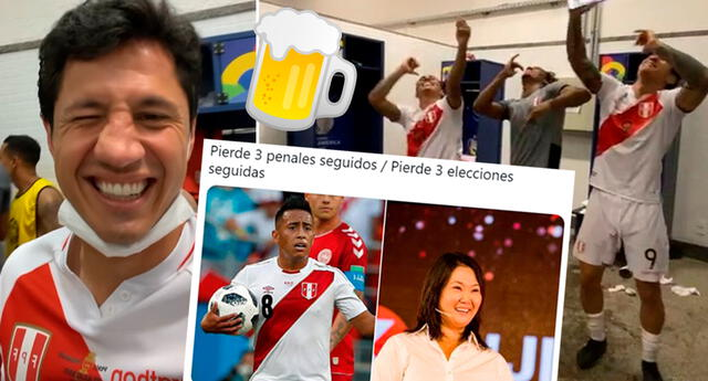 Los cibernautas celebraron la victoria de la Bicolor frente a Paraguay, y no dudaron en viralizar divertidos memes y videos de la selección peruana.