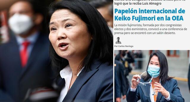 Una vez más vincularon las medidas de Fujimori con las que tomó Trump en Estados Unidos. Foto: composición de LR/Marco Cotrina/captura de Página 12