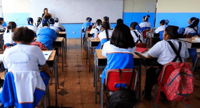 Conoce la fecha en que los escolares regresarían a estudiar en los centros educativos