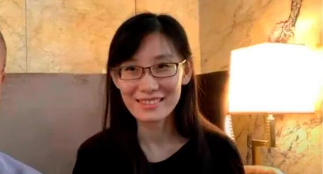 Li-Meng Yan, viróloga china.