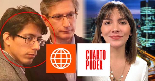 Sebastián Salazar y Tatiana Alemán serían los nuevos conductores de Cuarto Poder.