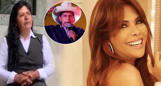 Magaly Medina revela que esposa de Pedro Castillo busca vestido para toma de mando