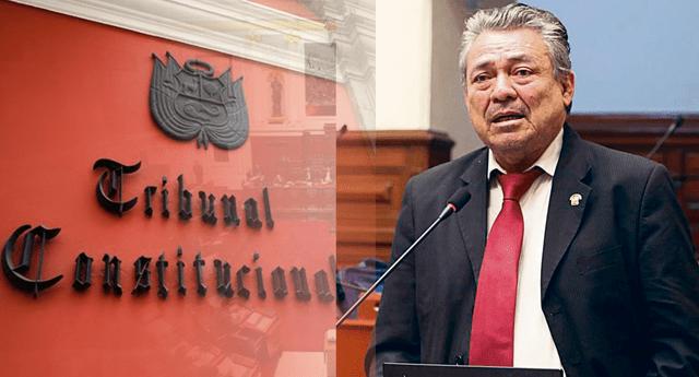 Rolando Ruíz, presidente de la Comisión de Selección de candidatos para el Tribunal Constitucional del Congreso