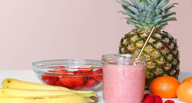 Batidos de frutas y verduras para adelgazar.