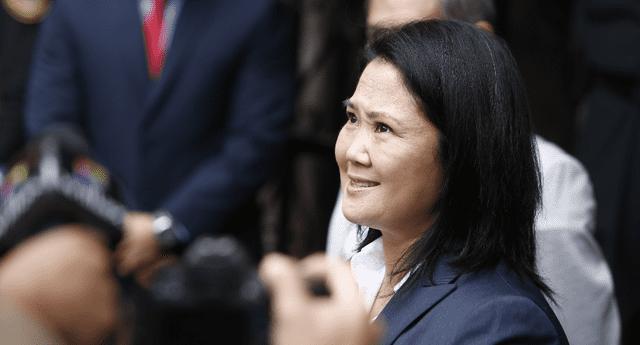 Keiko Fujimori en la mira del Ministerio Público.