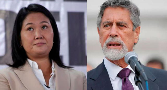 Francisco Sagasti manda indirecta a Keiko Fujimori