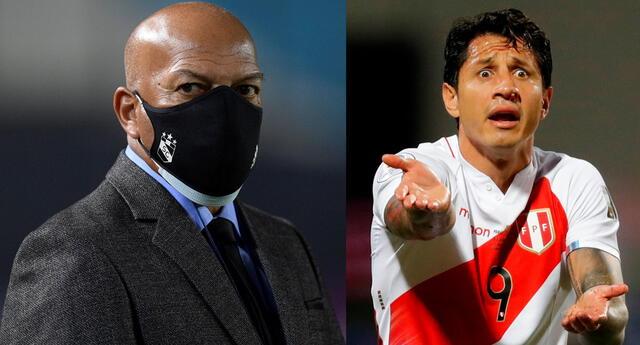 Roberto Mosquera se refirió a Gianluca Lapadula en la selección peruana.