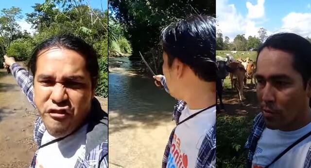Llamativo video del tarapotino se hizo viral en las redes sociales.
