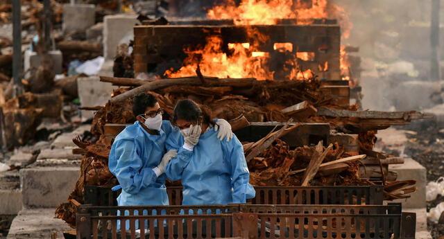 Durante el mes de marzo y junio de 2021 se cremaron más de 6.000 víctimas de la segunda ola de coronavirus.
