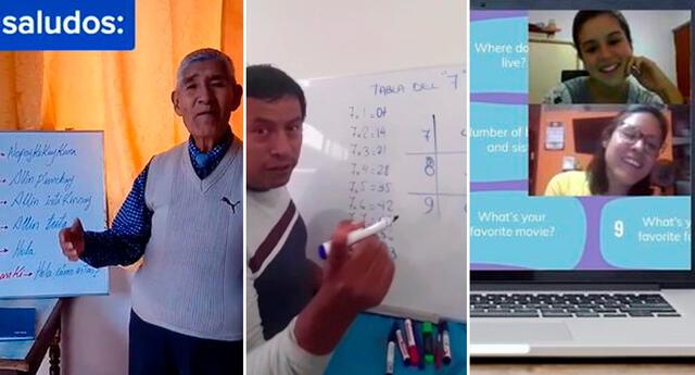 Día del Maestro 2021: 5 maestros que la rompieron en TikTok.