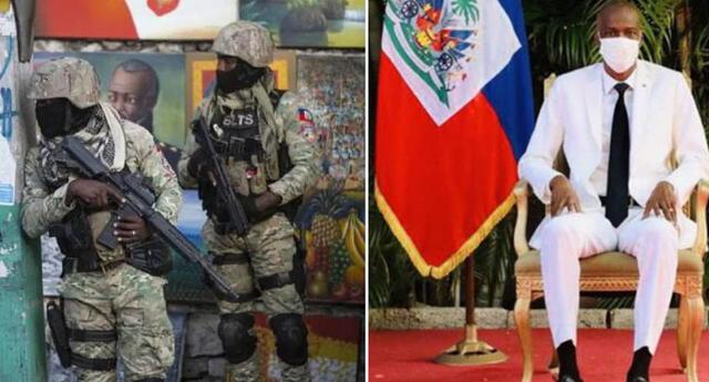 """Asesinato de Jovenel Moïse: Declaran """"estado de sitio"""" a Haiti tras la muerte del presidente."""