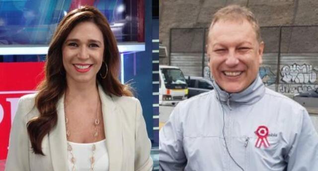 Verónica Linares troleó a Gunter Rave y reveló ante cámaras que se conocen desde hace casi 25 años, cuando ella recién ingresaba a la televisión.