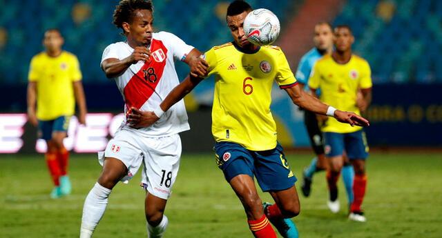Perú vs. Colombia se enfrentarán para ocupar un lugar en el podio de la Copa América 2021.