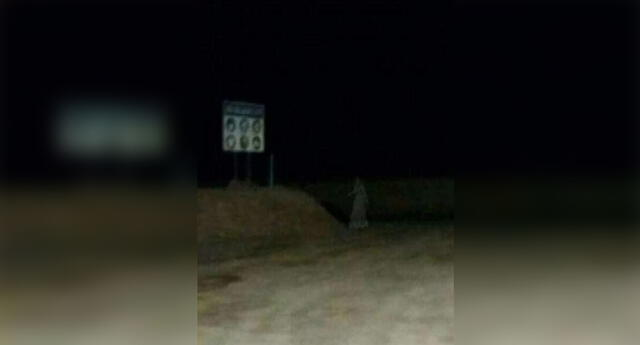 Algunos cibernautas señalan que la imagen es falsa, otros dicen que es el fantasma de la mina Cori.