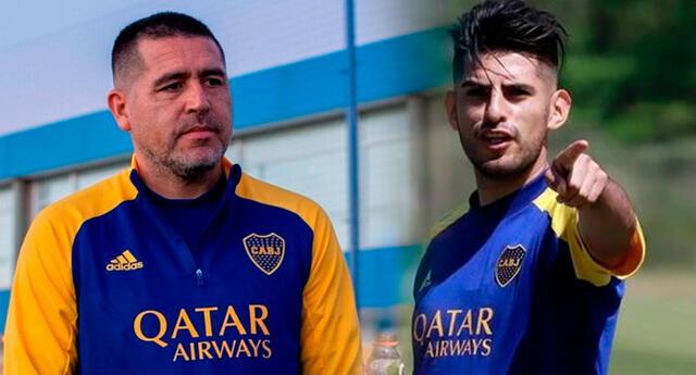 Juan Román Riquelme quiere que Boca Juniors tenga defensa con dos peruanos.