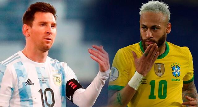 Brasil y Argentina definen al campeón de la Copa América 2021