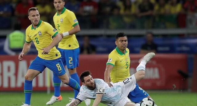 Messi y Casimiro un duelo que se dará en el Maracaná.