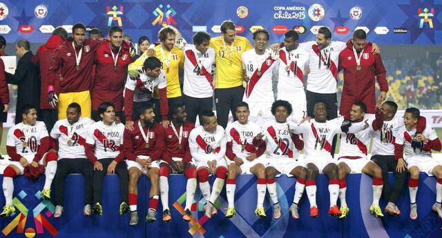 En la Copa América de Chile 2015 se quedó con el tercer lugar.