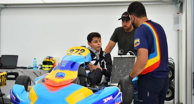 Andrés Cárdenas confía en realizar una mejor competencia.