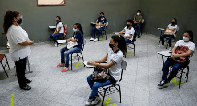 Conoce AQUÍ cuando empezarán las clases presenciales 2021 en Perú.
