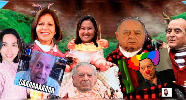 Los internautas de Twitter se inspiraron en Mario Vargas Llosa para crear divertidos memes.