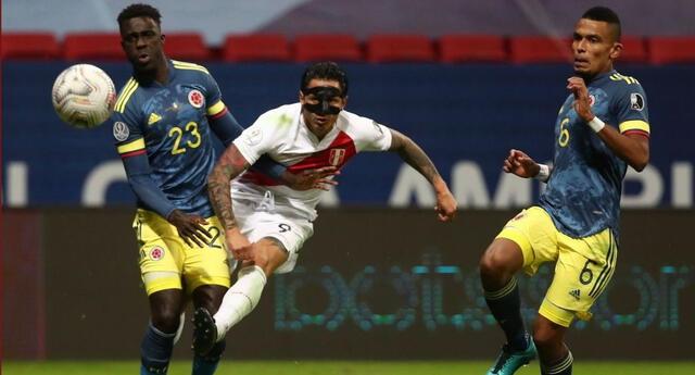 Perú vs Colombia: Lapadula anotó el segundo gol del empate por el tercer puesto de la Copa América 2021