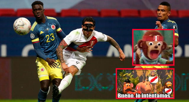Diviértete de los mejores memes tras derrota de Perú frente a Colombia.