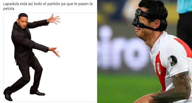 A pesar de su lesión en el tabique, y que le obliga a usar una máscara protectora, Lapadula nos regaló un gol ante los cafeteros.
