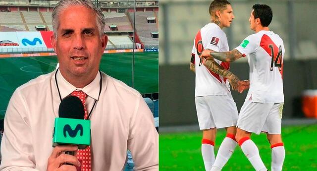 Diego Rebagliati, comentarista, eligió a su equipo peruano para las Eliminatorias Qatar 2022.