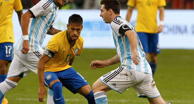 Neymar y Messi se verán las caras en la final de Copa América 2021.