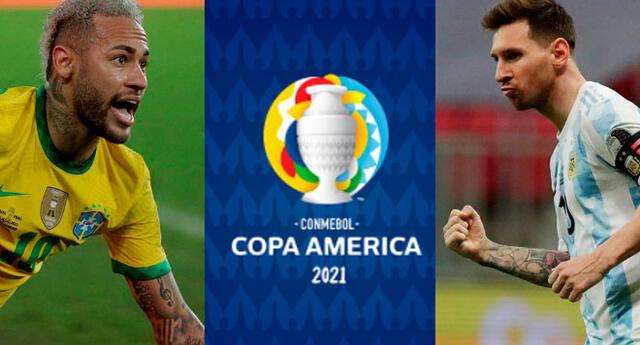 Conmebol eligió a Messi y Neymar como los favoritos de la Copa América 2021.