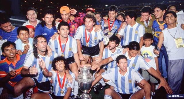 Argentina se proclamó campeón de la Copa América 1993.