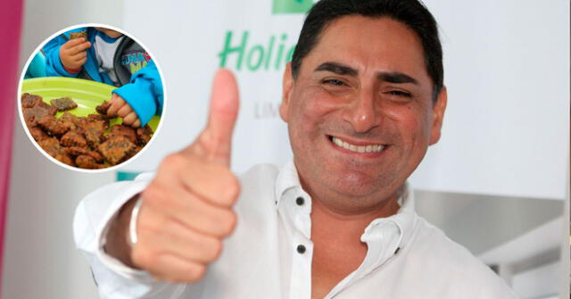 Carlos Álvarez espera erradicar la anemia infantil con esta inspiradora campaña.