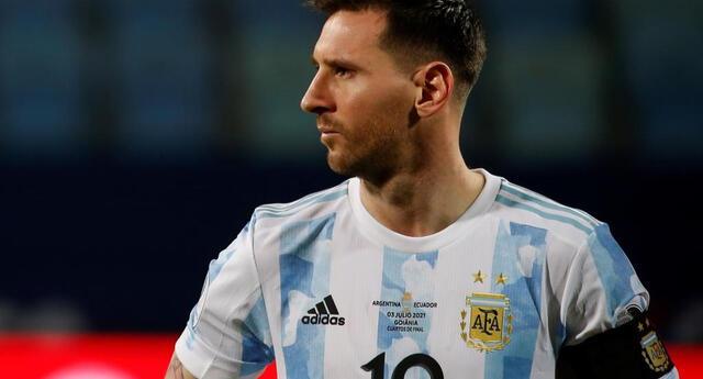 Messi tuvo la oportunidad de poner el segundo